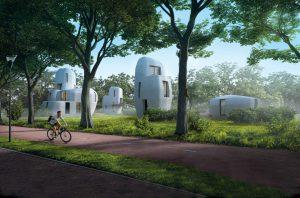 Premières maisons imprimées en 3D