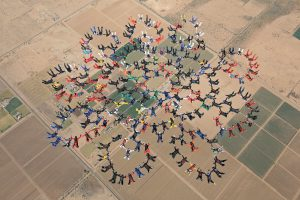 Saut en parachute record