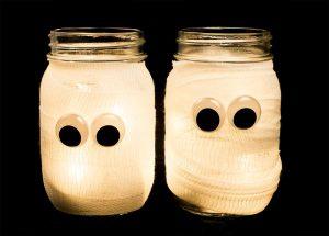 Décorations d'Halloween… en pot!