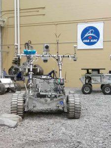 Beppo en visite à l'Agence spatiale canadienne