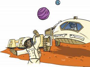 Pourrais-tu vivre sur Mars