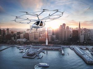 Taxis volants Volocopter