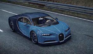 Une Bugatti en LEGO !