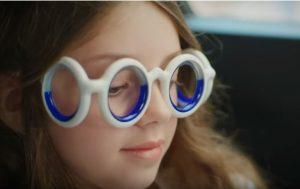 Des lunettes contre le mal des transports