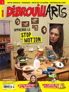 DébrouillArts – Mars 2019 – Apprends le stop motion