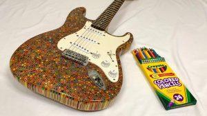 Une guitare à la bonne mine !