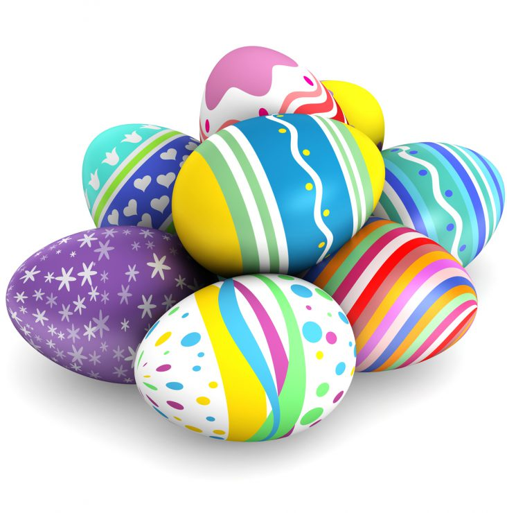 Fabrique des oeufs géodes pour Pâques