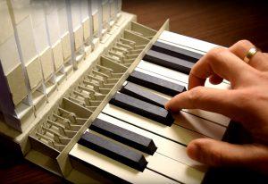 Jouer sur un orgue… en papier
