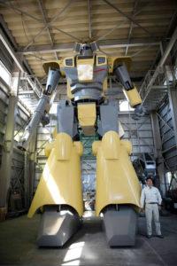 Mononofu, le robot géant
