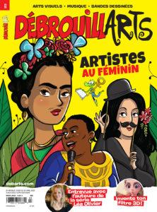 DébrouillARTS – Mars 2020 – Artistes au féminin