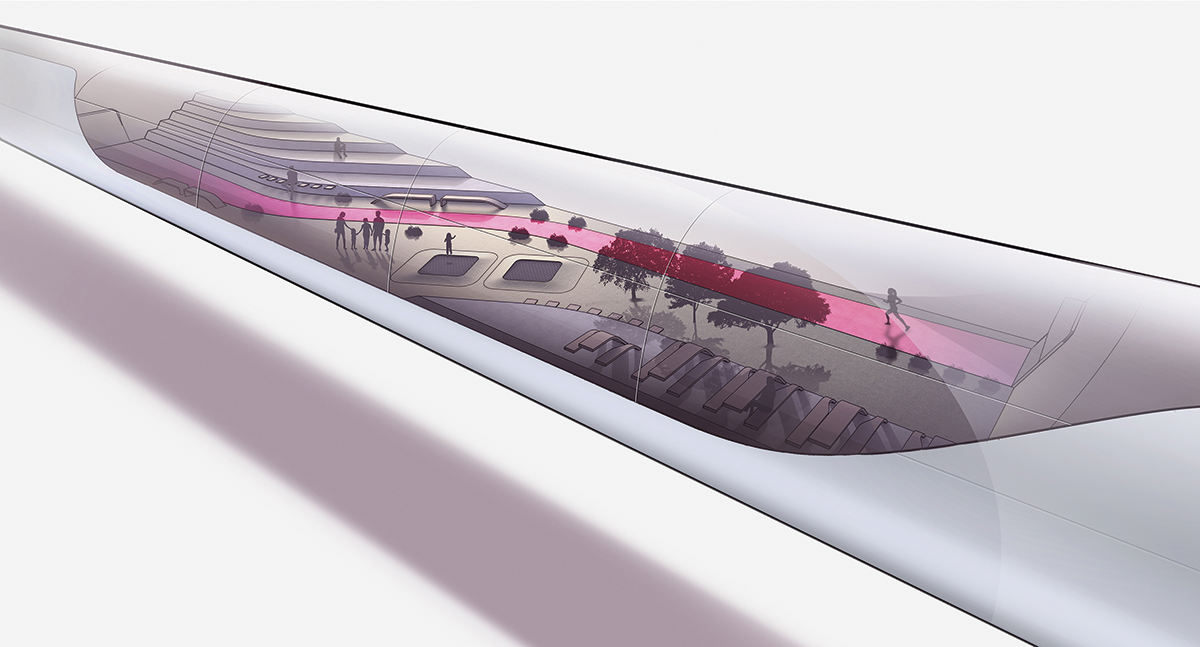 Découvre l'AeroSlider : un train volant ultrarapide!
