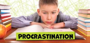 Votre enfant procrastine, surtout quand il s'agit de devoirs ?