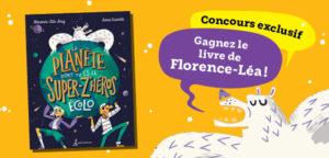 Concours : gagnez le livre de Florence-Léa