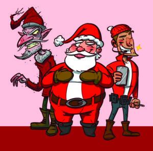Quel père Noël serais-tu ?