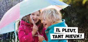 Il pleut ? Tant mieux ! Découvrez nos activités pour les jours de pluie !