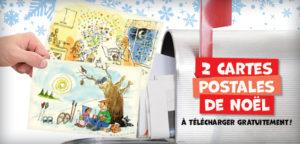 Les cartes postales de Noël à télécharger !