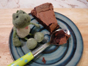 La recette du gâteau chocolamandine : sans farine et super moelleux !