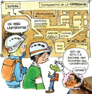 Perce les mystères des villes souterraines !