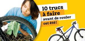 Entretenir son vélo pour rouler cet été !