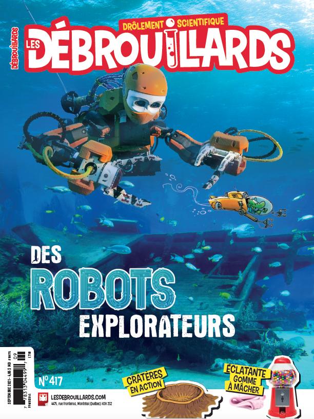 Septembre 2021 – Des robots explorateurs